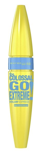 Mascara Maybelline New York Volum Express The Colossal Go Extreme Very Black Waterproof, 9.5 ml